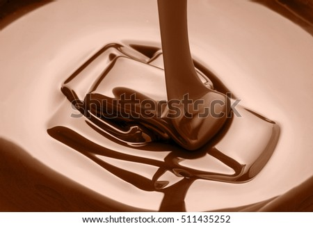 close up photo of melted chocolate