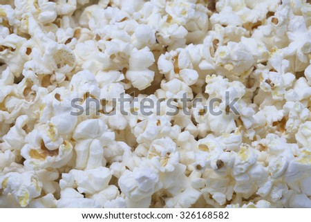 close up popcorn seed ready to eat - stock photo