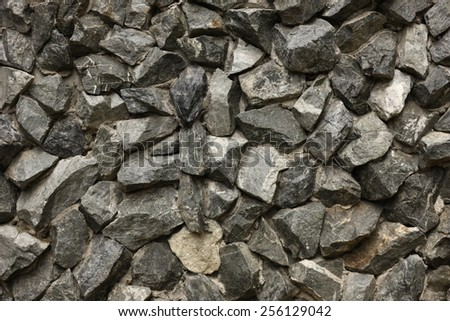 Close up rock texture - stock photo