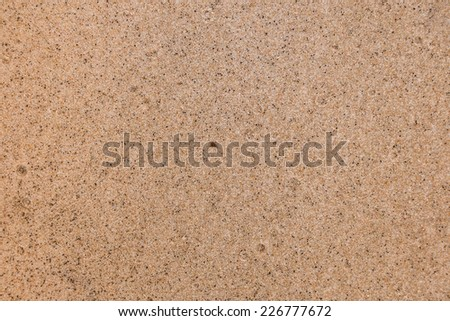 Close-up sand background - stock photo