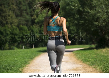 Sexy ass female runners