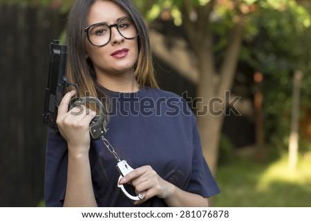 Mccormack sexy girls handcuffs cute latina teen