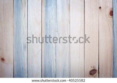 Close up shot of wooden planks perfect for background - stock photo