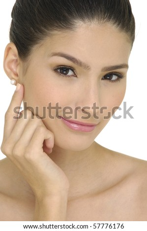 Close up skin and beauty care