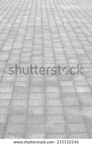 close - up street floor tiles as background   - stock photo