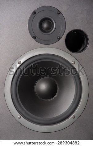 Close up system sound Speaker