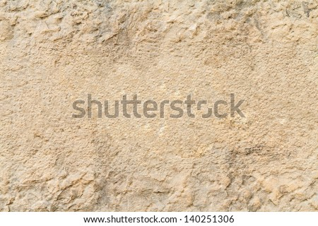 close up texture of old stone wall - stock photo