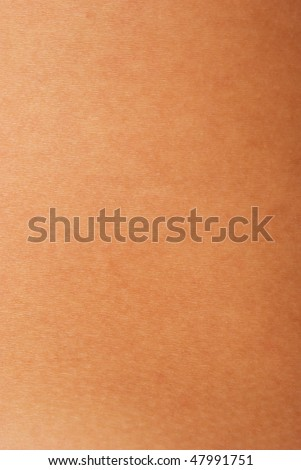 close up view of a human skin (series) - stock photo