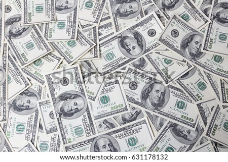 close up view of cash money dollars bills in amount