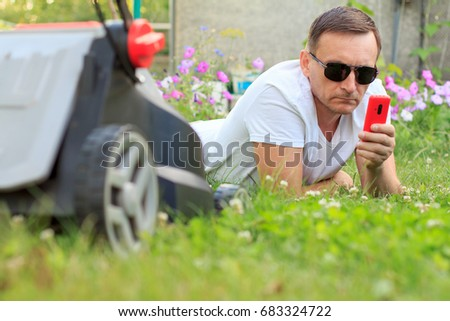 Lawn Maintenance Stock Images Royalty Free Images