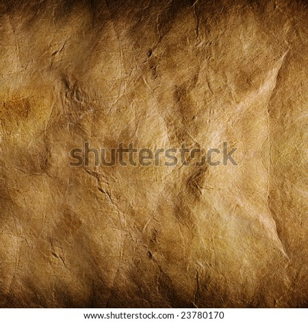 Close up view of the old paper background - stock photo