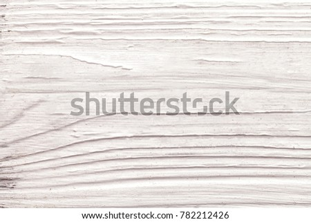 Close-up white colored wooden board texture background.