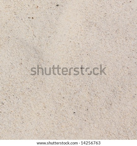 close up white sand texture - stock photo
