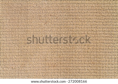 Close up woven rope texture, sacks doormat use for background - stock photo
