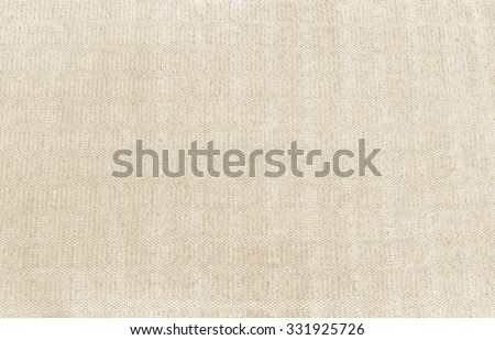 Close up woven rope texture, sacks doormat use for background processed in vintage style in orange tone - stock photo