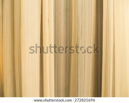 Close up yellow curtain texture background - stock photo