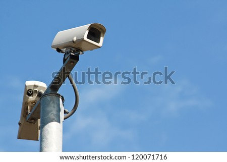 Closed circuit television cameras or CCTV is modern security equipment for collecting evidence of a crime