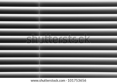 Closed shutter background - stock photo