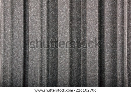 Closeup background of acoustic foam wall, macro - stock photo
