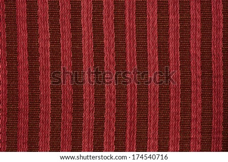 Closeup detail of red background with stripe pattern - stock photo