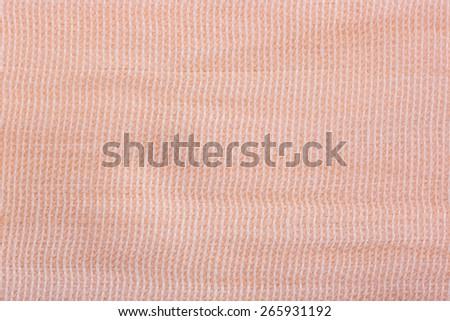 Closeup elastic bandage, background, wallpaper, texture - stock photo