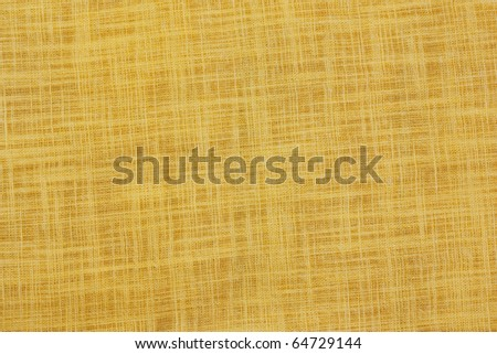 Closeup fabric flax an background - stock photo