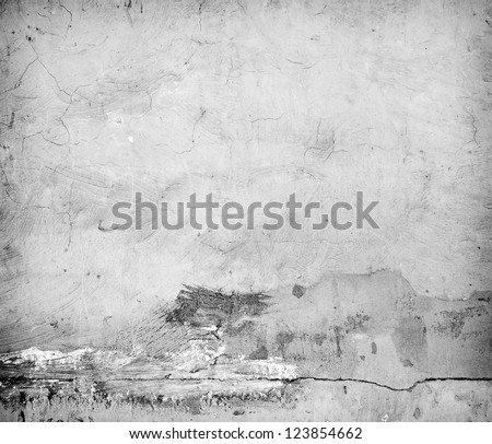 Closeup fragment of grunge weathered wall of a building - stock photo