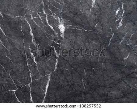 Closeup of a marble stone wall, background - stock photo