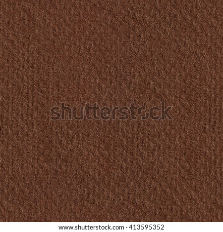 Closeup of abstract grunge brown paper. Seamless square texture. Tile ready. - stock photo