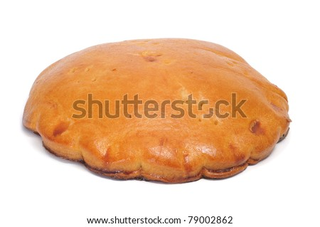 closeup of an empanada, a typical cake from Spain - stock photo