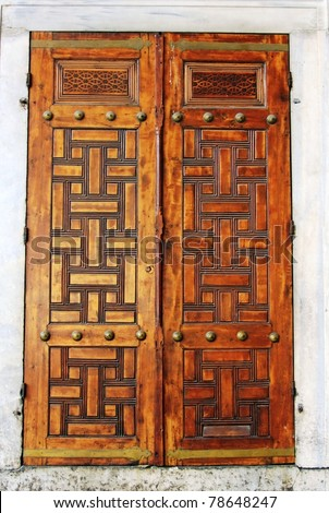 Beautiful Mexican Door Stock Photo 73304725 Shutterstock