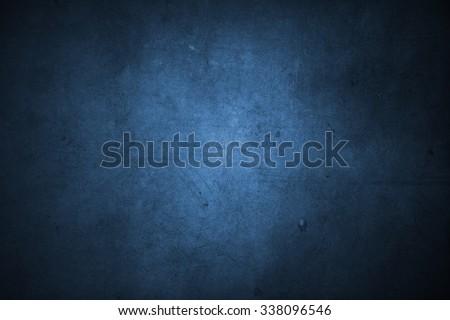 Closeup of blue concrete texture - stock photo