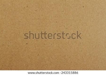 Closeup of cardboard texture - stock photo