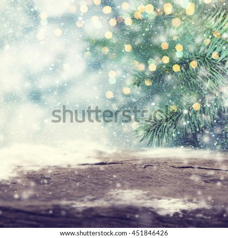 Closeup of Christmas-tree. - stock photo