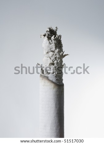 Closeup of cigarette - stock photo