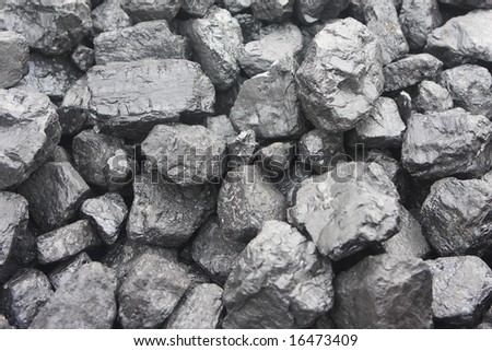 closeup of fossil fuel - stock photo