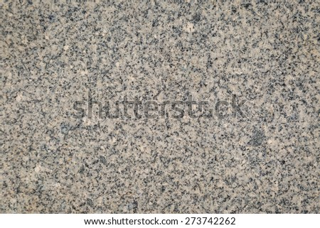 Closeup of grey granite texture background