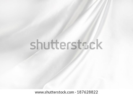 Closeup of lines in silk fabric  - stock photo
