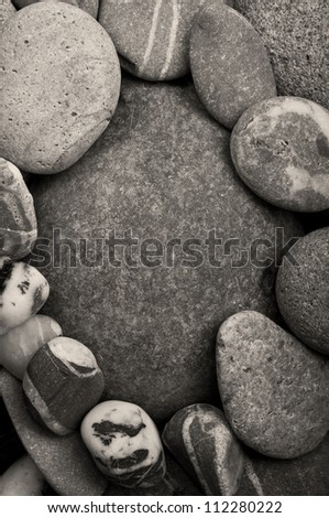 closeup of stone texture background - stock photo