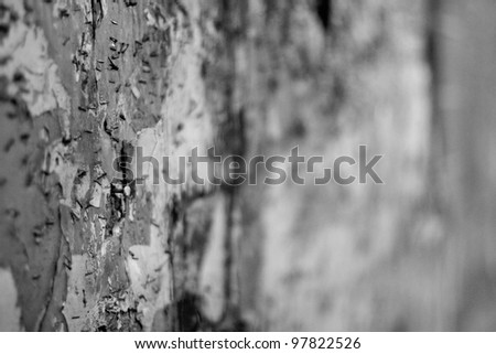 Closeup of Textured Wall - stock photo