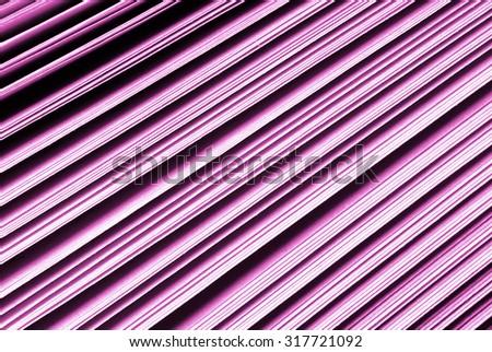 closeup of the paper pink purple  catalogue - stock photo