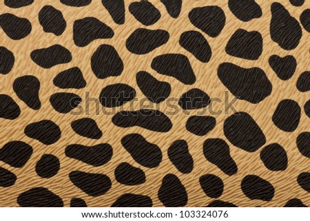 closeup of tiger texture - stock photo
