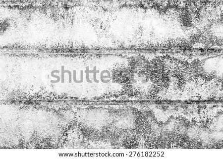 Closeup of white grunge rough textured background - stock photo