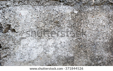 Closeup old weathered concrete wall texture with plaster