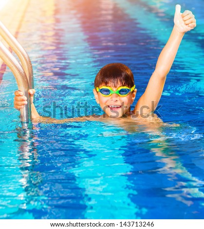 Kids Swimming Stock Photos Images Pictures Shutterstock
