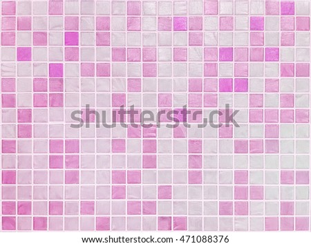Bathroom Wall Texture bathroom wall pink different shades mosaic stock illustration