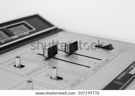 closeup Switch Stereo Cassette