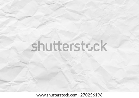 closeup to creased  paper texture background - stock photo