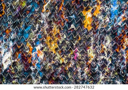 cloth textile fabric handmade - stock photo