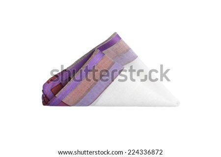 Cloth with lines - stock photo